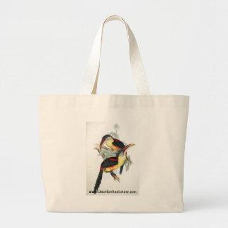 Gould - bolso Rizo-Con cresta del promo de Aracari Bolsa Tela Grande