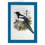 Gould - Bootan Magpie Greeting Card