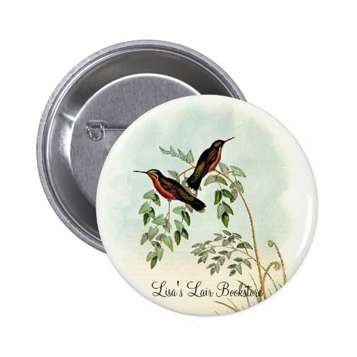 Gould - Chestnut-Bellied Adelomyia Promo Button