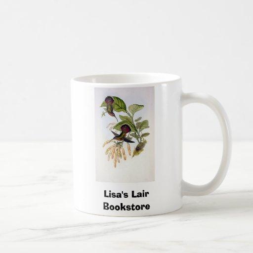 Gould - colibrí lanceolado del ermitaño tazas de café
