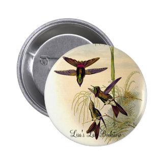 Gould - Columbian Thornbill Hummingbird Promo Butt Buttons