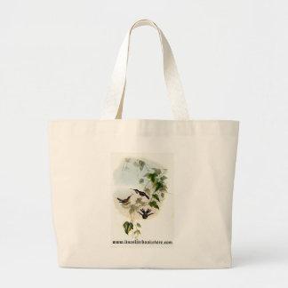 Gould - Fanny's Woodstar Hummingbird Canvas Bag