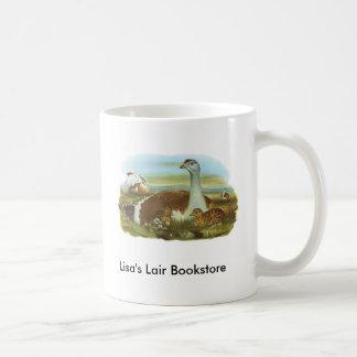 Gould - Great Bustard - Otis tarda Bookstore Promo Coffee Mug