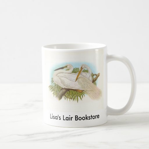 Gould - Great White Heron - Egretta alba Promo Mugs