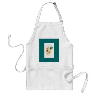 Gould - Green-Breasted Sapphironia Hummingbird Adult Apron