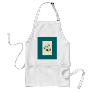 Gould - Green-Headed Sapphire Hummingbird Adult Apron