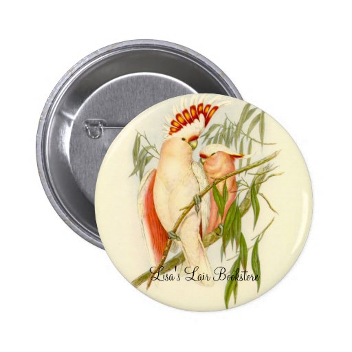 Gould - Leadbetter's Cockatoo Bookstore Promo Buttons