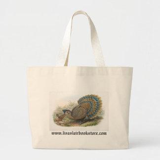 Gould - Malayan Peacock Tote Bag