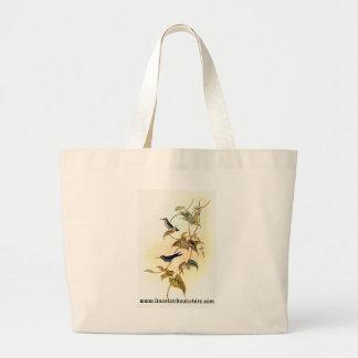 Gould - Mauge's Hummingbird Jumbo Tote Bag