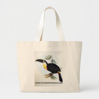 Gould - Osculant Toucan Jumbo Tote Bag