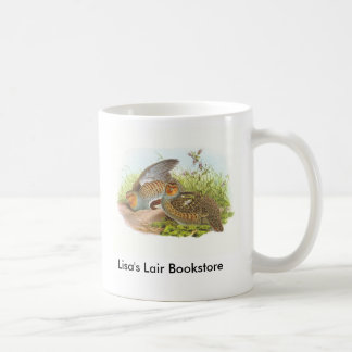 Gould - Partridge - Perdix perdix Bookstore Promo Coffee Mug