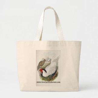 Gould - Pencilled Pheasant Jumbo Tote Bag