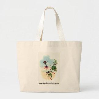 Gould - Princess Helena's Coquette Hummingbird Jumbo Tote Bag