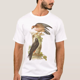 Gould - Red-Footed Falcon - Falco vespertinus T-Shirt