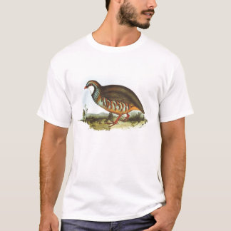 Gould - Red-Legged Partridge - Alectoris rufa T-Shirt