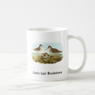 Gould - Redshank - Tringa totanus Bookstore promo Coffee Mug