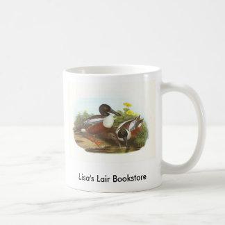 Gould - Shoveler - Anas clypeata Bookstore Promo Mugs