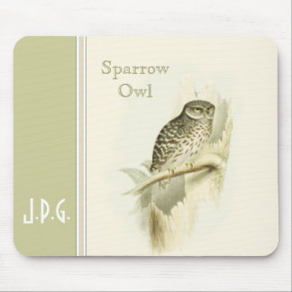 Gould Sparrow Owl Mouse Pad