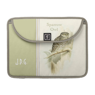 Gould Sparrow Owl Sleeves For MacBooks