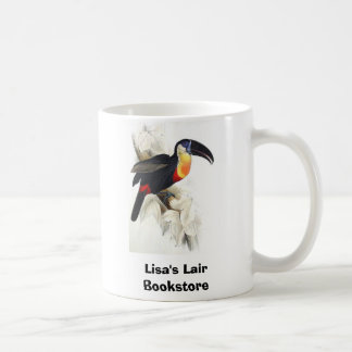 Gould - Sulphur and White Breasted Toucan Coffee Mug
