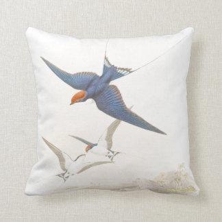 Gould Swallow Birds Throw Pillow