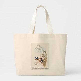 Gould - Wagler's Wood-Nymph Hummingbird Large Tote Bag