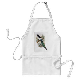 Gould - White-Winged Magpie Adult Apron