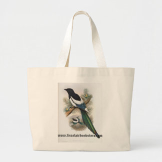 Gould - White-Winged Magpie Bookstore Promo Bag