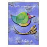 Gouldian Sky Greeting Cards