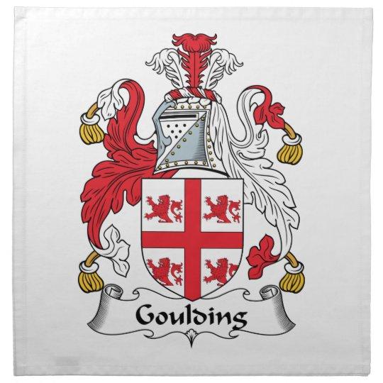 Goulding Family Crest Cloth Napkin