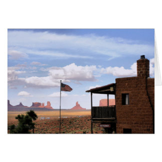 Gouldings Trading Post, Monument Valley, UT Card