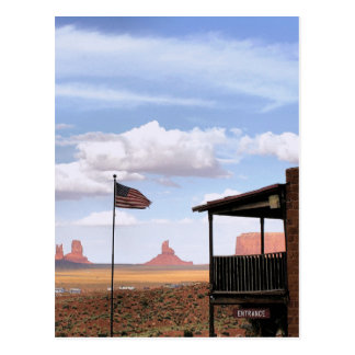 Gouldings Trading Post, Monument Valley, UT Postcard
