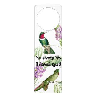 Goulds' Hummingbirds Door Hanger