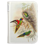 Goulds Lorikeet Parrot Kindle Case