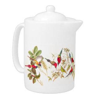 Goulds Sunbird Birds Teapot