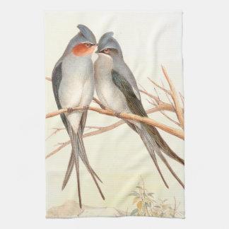 Goulds Swallow Birds Kitchen Towels