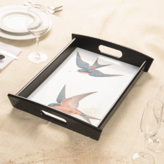 Goulds' Swallow Birds Serving Tray