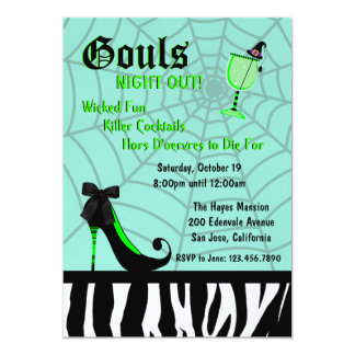 Gouls Night Out Invite [Teal]