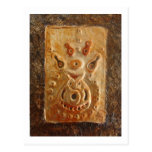 Gourd Mask_African Art Mask Postcard 698