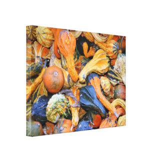 Gourdgeous Gourds Photography Canvas Print