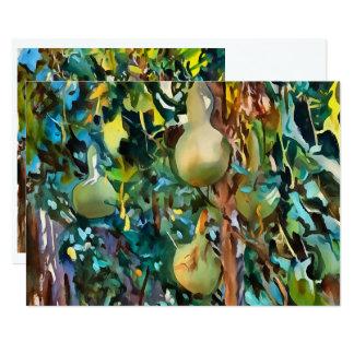 Gourds After John Singer Sargent Card