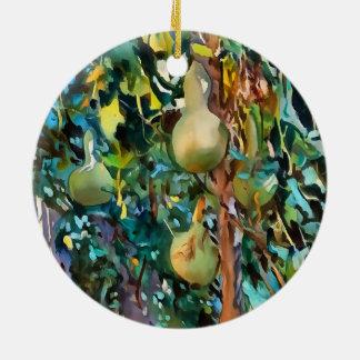Gourds After John Singer Sargent Ceramic Ornament