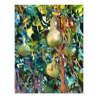 Gourds After John Singer Sargent Letterhead