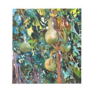Gourds After John Singer Sargent Notepad