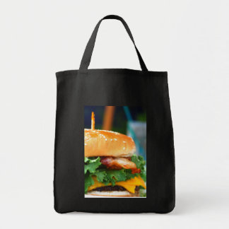 Gourmet Bacon Cheeseburger Tote Bag