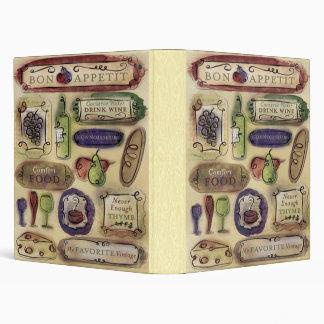 Gourmet Binder/Album Binder