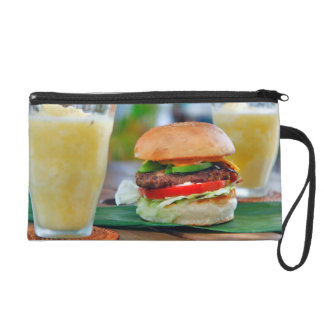 Gourmet Burger and Smoothies Wristlet