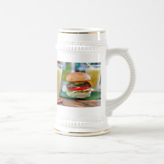 Gourmet Burger and Smoothies Beer Stein