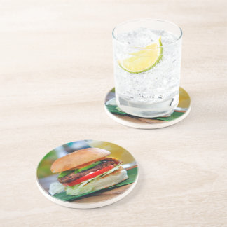 Gourmet Burger and Smoothies Coaster