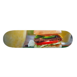 Gourmet Burger and Smoothies Skateboard Deck